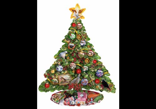 De kerstboom - 1000 stukjes
