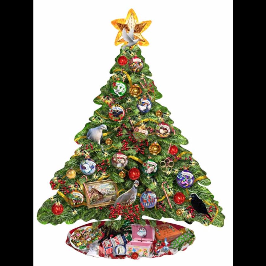 De kerstboom - legpuzzel van 1000 stukjes-1