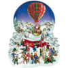 SUNSOUT Old Fashioned Snow Globe  - jigsaw puzzle of 1000 pieces