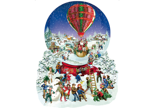 Old Fashioned Snow Globe - 1000 pieces