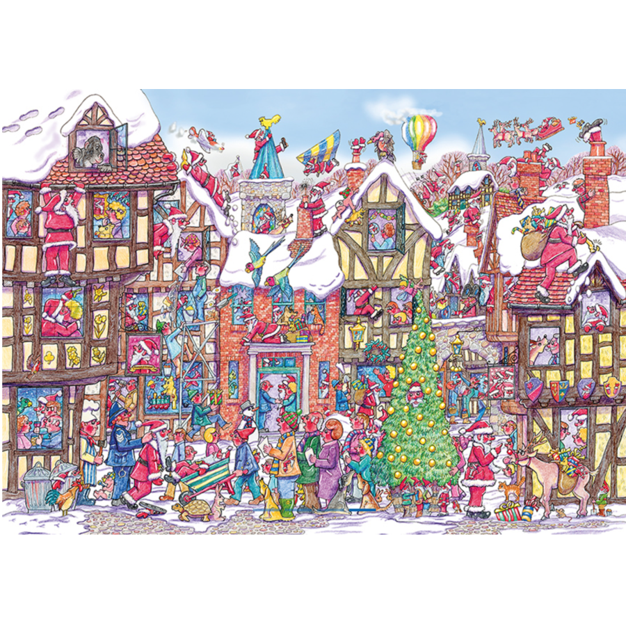 De kerstbal - 250 stukjes-2