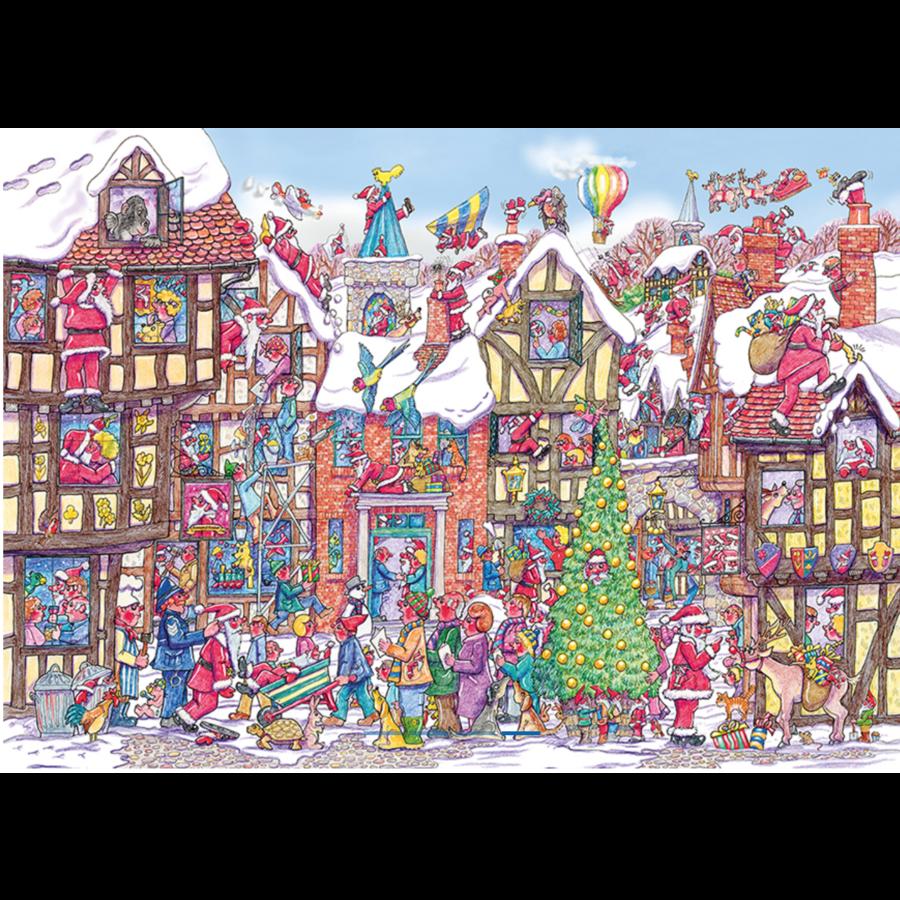 Santa Scramble Bauble - puzzle 250 pieces-2