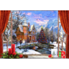 Bluebird Puzzle Christmas Mountain View - puzzle of 1500 pieces