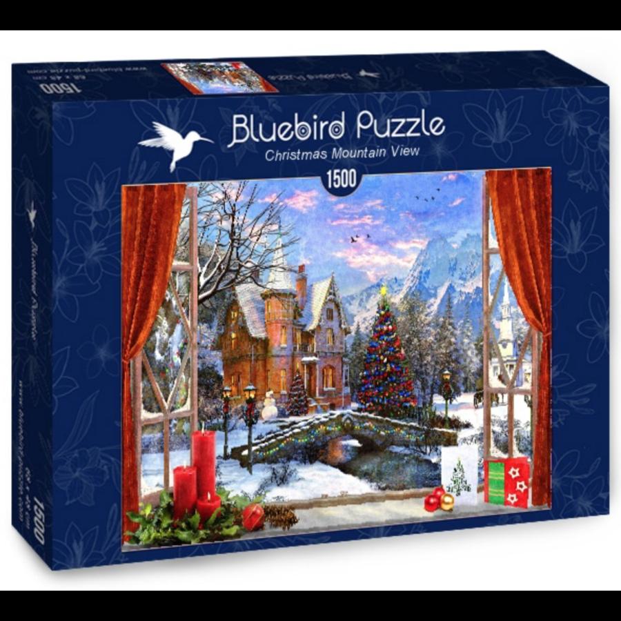 Kerstmis in de bergen - puzzel van 1500 stukjes-2