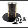 Curiosi Puzzle Double Noir - Puzzle Ronde Recto-Verso en Plexi - 88 pièces