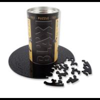 thumb-Puzzle Double Noir - Puzzle Ronde Recto-Verso en Plexi - 88 pièces-1