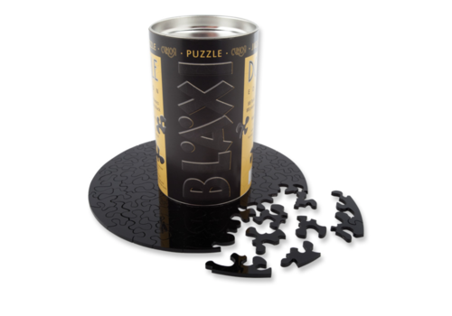 Curiosi Dubbelzijdige Puzzel in Plexiglas - Black - 88 stukjes