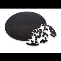 thumb-Puzzle Double Noir - Puzzle Ronde Recto-Verso en Plexi - 88 pièces-2