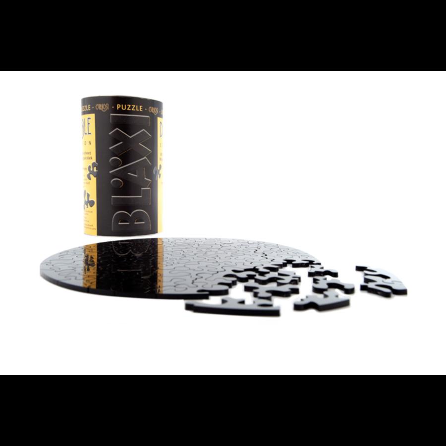 Puzzle Double Noir - Puzzle Ronde Recto-Verso en Plexi - 88 pièces-3