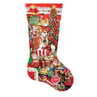 Kitty Stocking  - jigsaw puzzle of 800 pieces