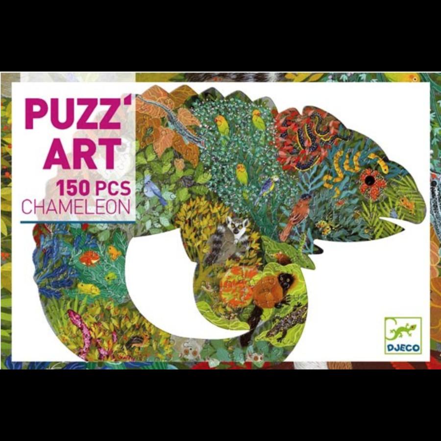 De kleurrijke kameleon - 150 stukjes-2