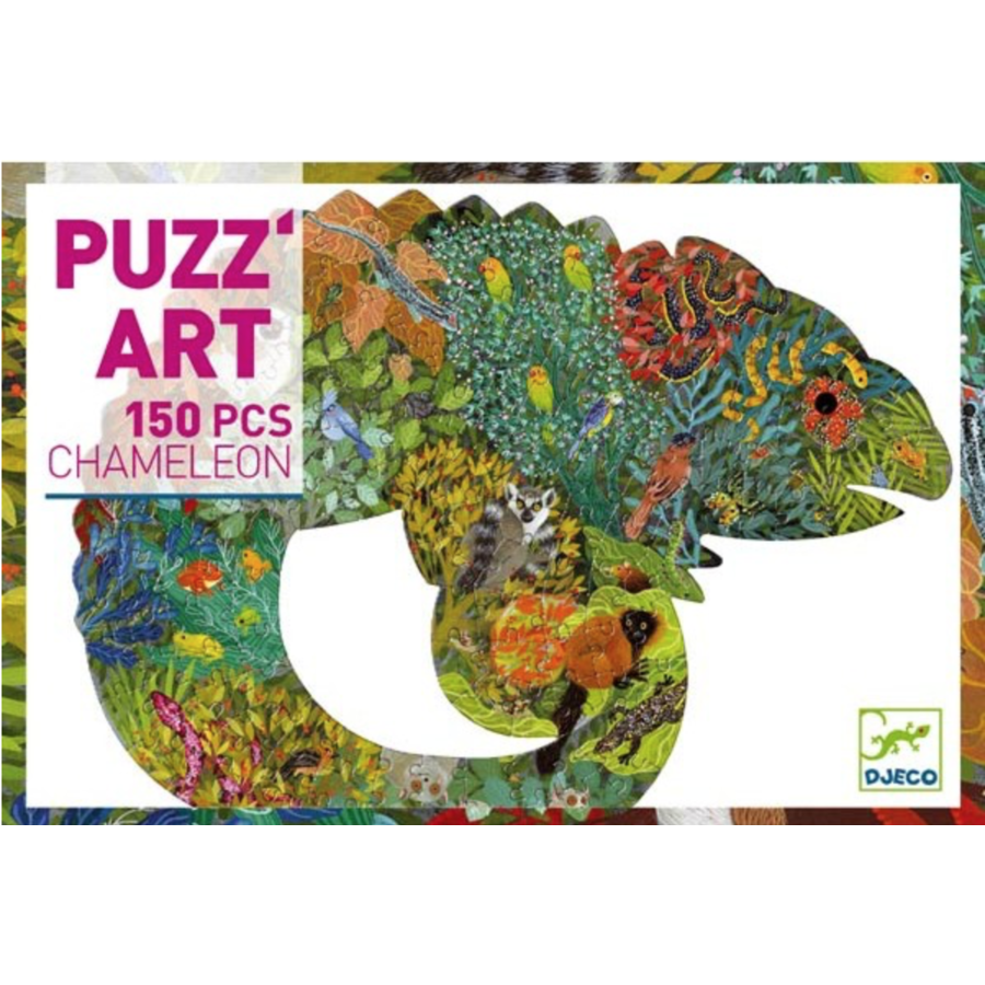 The colourful chameleon - 150 pieces-2