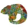 Djeco The colourful chameleon - 150 pieces