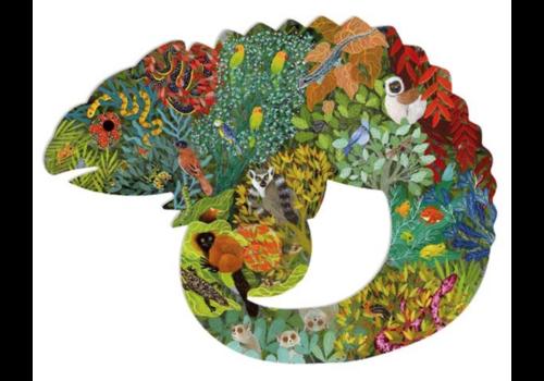 De kleurrijke kameleon - 150 stukjes