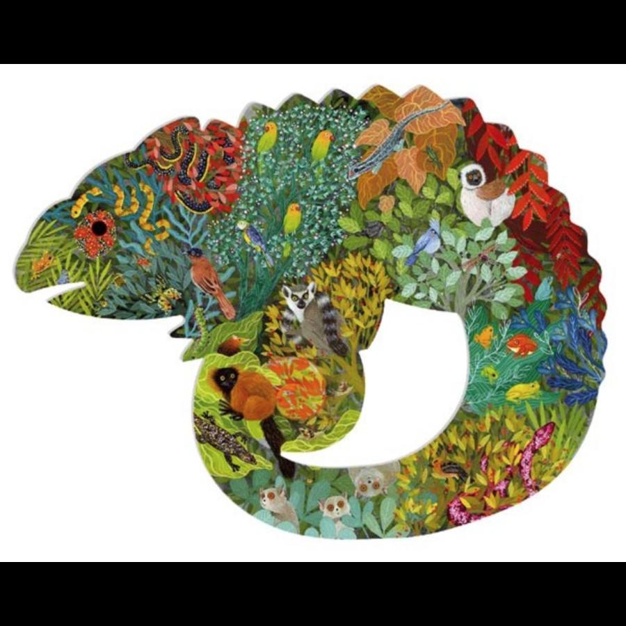 Le caméléon coloré - 150 pièces-1