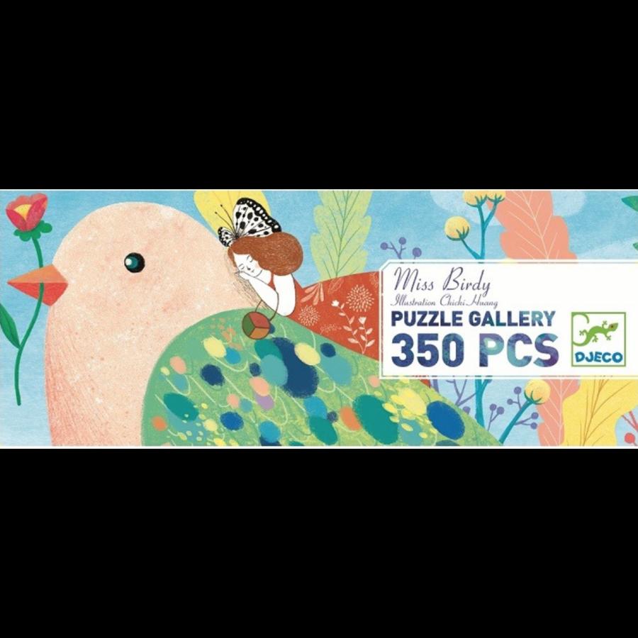 Miss Birdy  - puzzel van 350 stukjes - panorama-2
