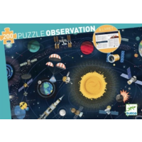 thumb-L'espace  - puzzle de 200 pièces-1