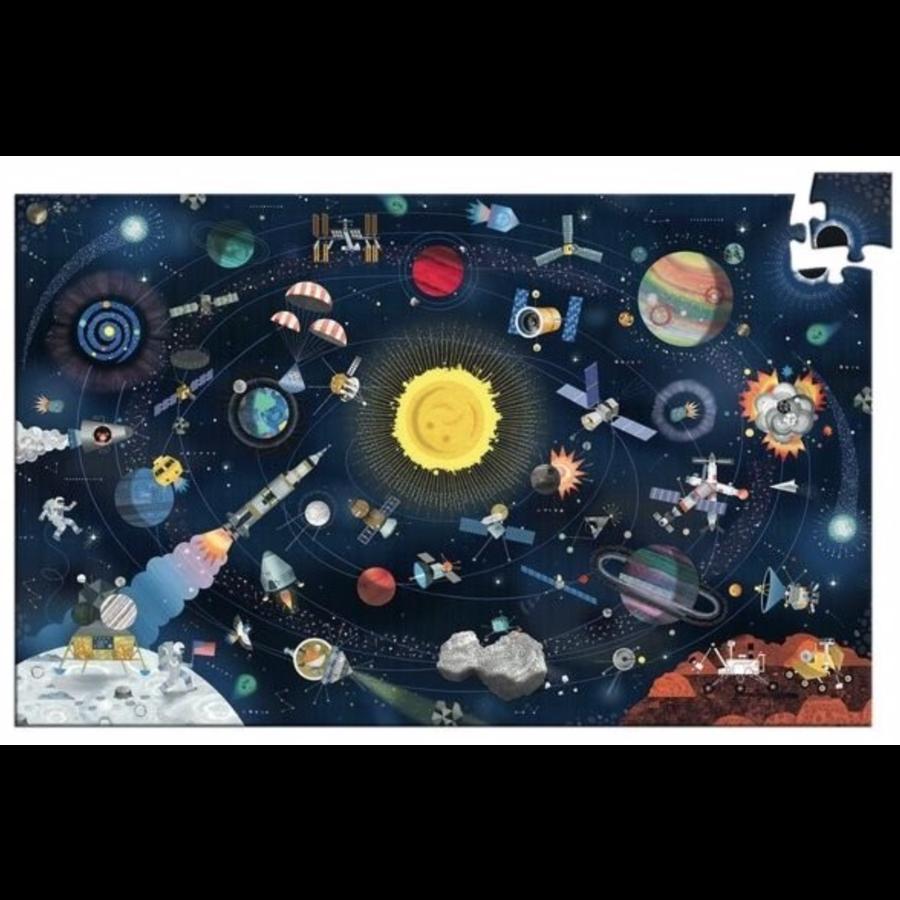 De ruimte  - puzzel van 200 stukjes-2