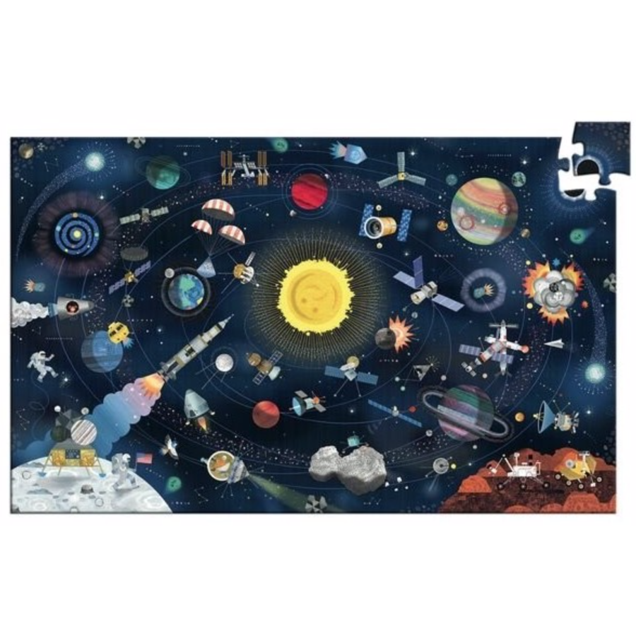 The Space - puzzle of 200 pieces-2