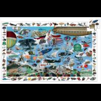 thumb-L'aéroclub  - puzzle de 200 pièces-2