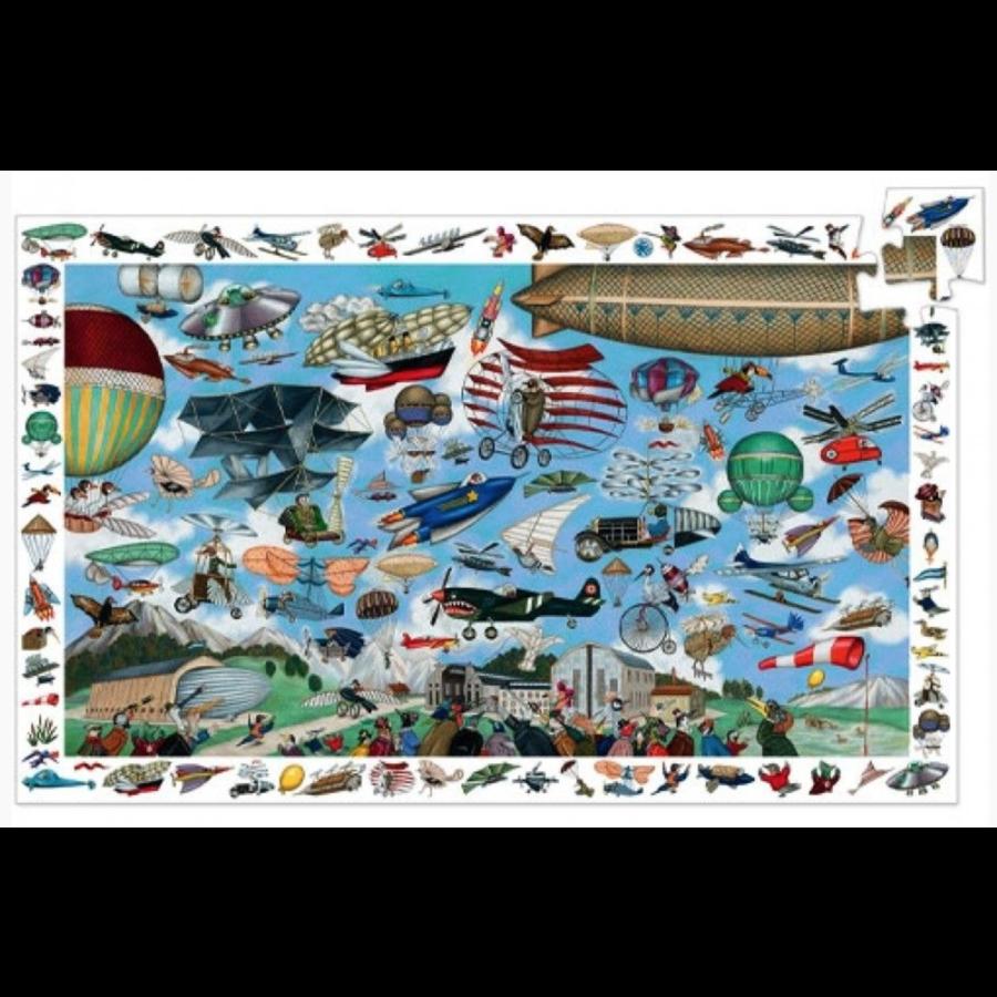 De vliegclub  - puzzel van 200 stukjes-2