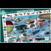 Djeco L'aéroclub  - puzzle de 200 pièces