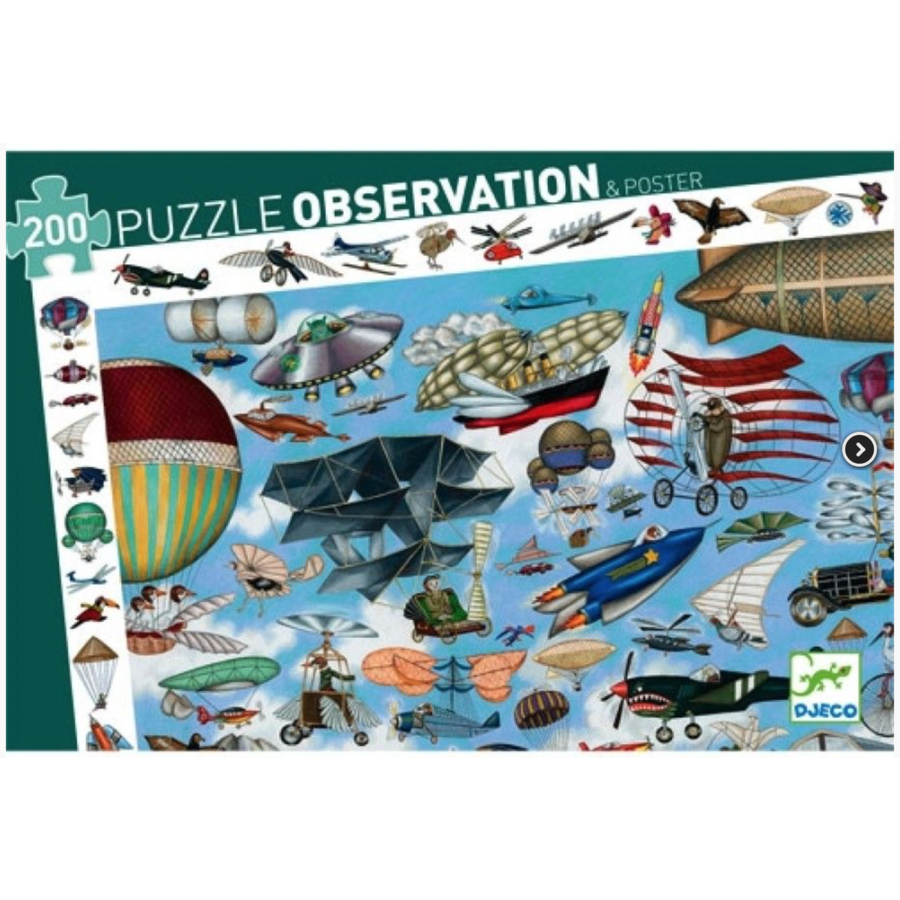 De vliegclub  - puzzel van 200 stukjes-1