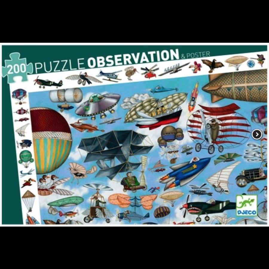 L'aéroclub  - puzzle de 200 pièces-1