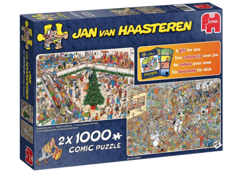 Holiday Shopping - JvH - 2x1000 pieces
