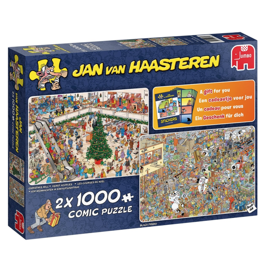 Holiday Shopping - JvH - 2x1000 pieces-1