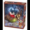 Cobble Hill Merry Christmas - puzzel van 275 XXL stukjes