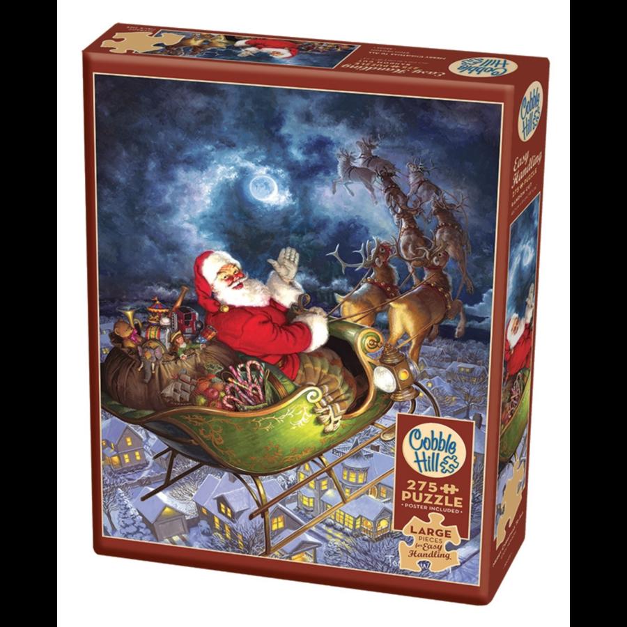 Merry Christmas - puzzel van 275 XXL stukjes-1