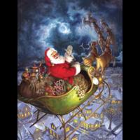 thumb-Merry Christmas - puzzle de 275 pièces XXL-2