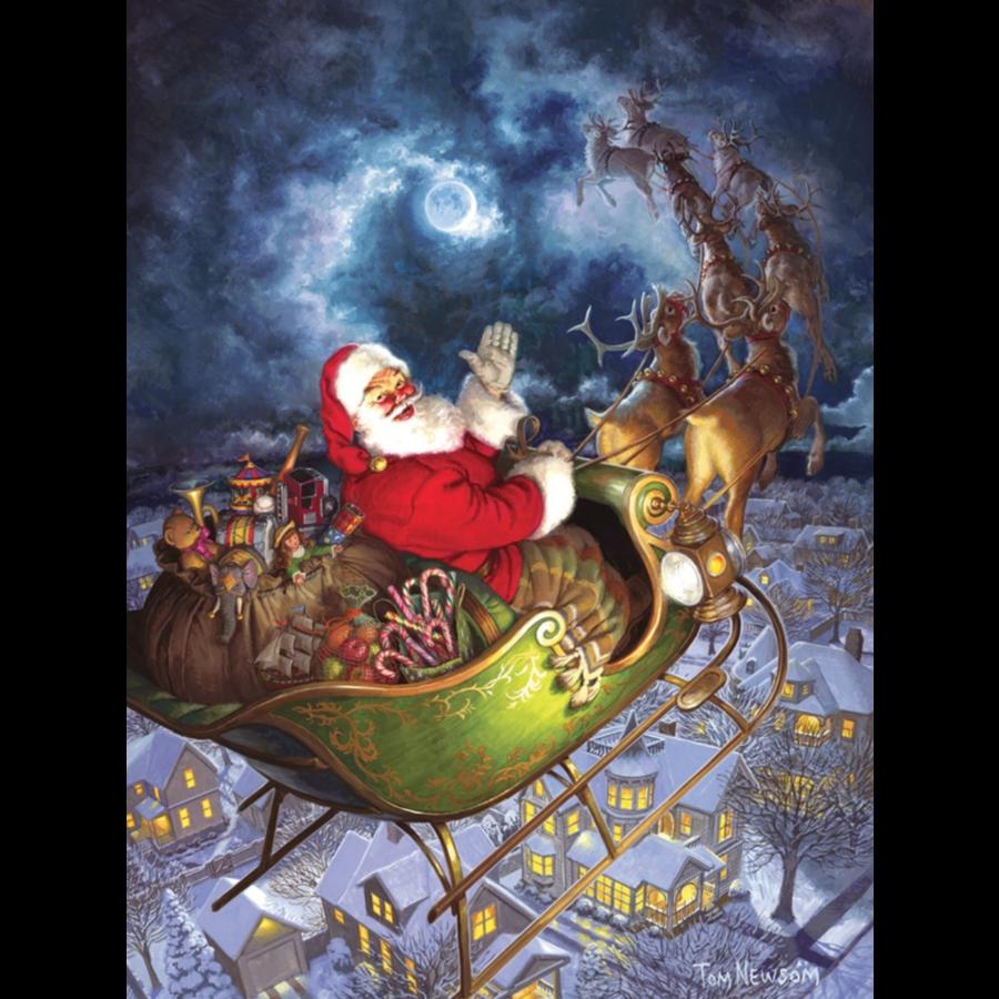 Merry Christmas - puzzel van 275 XXL stukjes-2