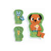 Djeco Charging Puzzle - Charly - 6 pieces