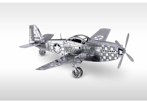 P-51 Mustang - puzzle 3D