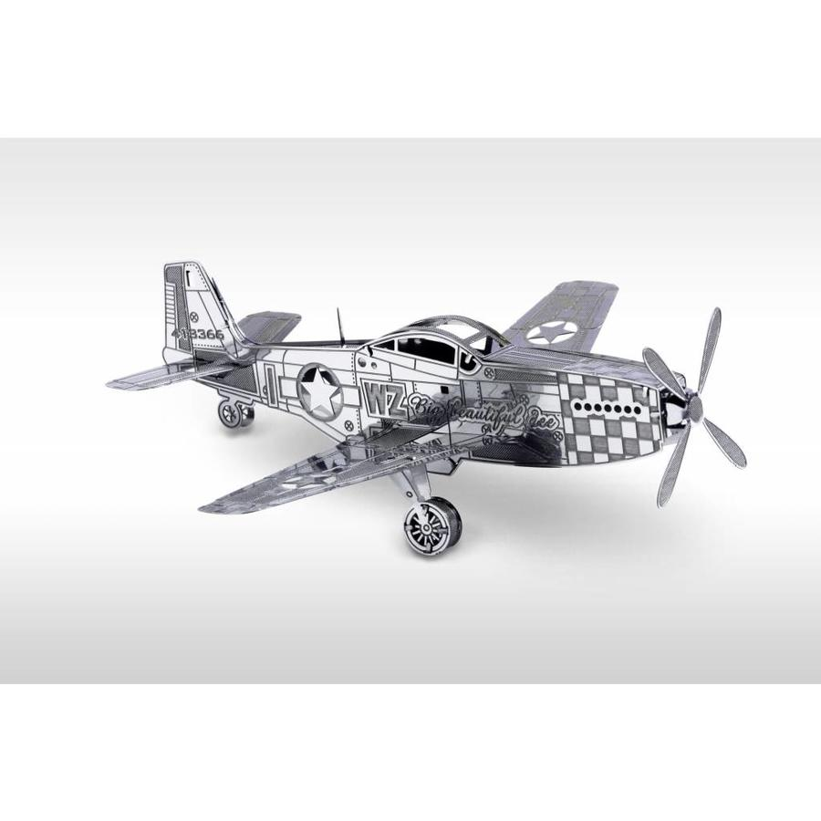 P-51 Mustang - puzzle 3D-1