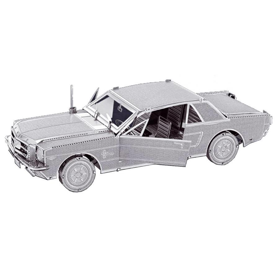 Ford Mustang 1965 - 3D puzzle-1