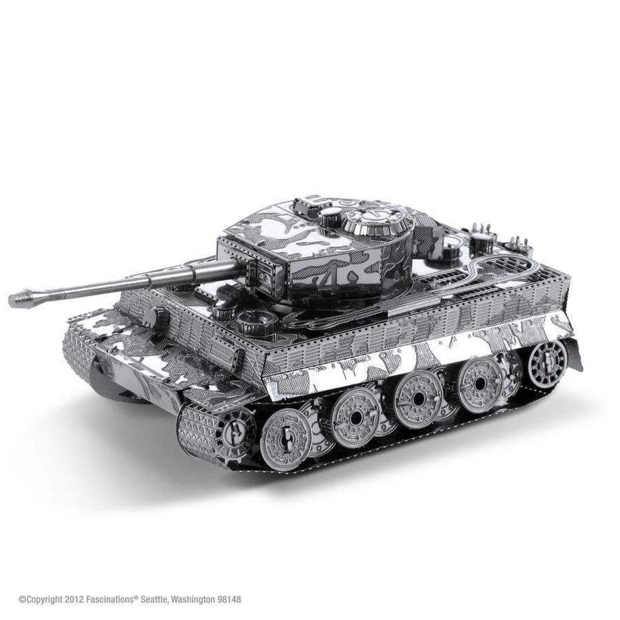 Tiger I Tank - puzzle 3D-1