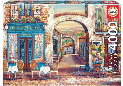 Educa The little coffee shop - 4000 pieces