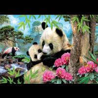 thumb-Pandas - puzzle de 1000 pièces-1
