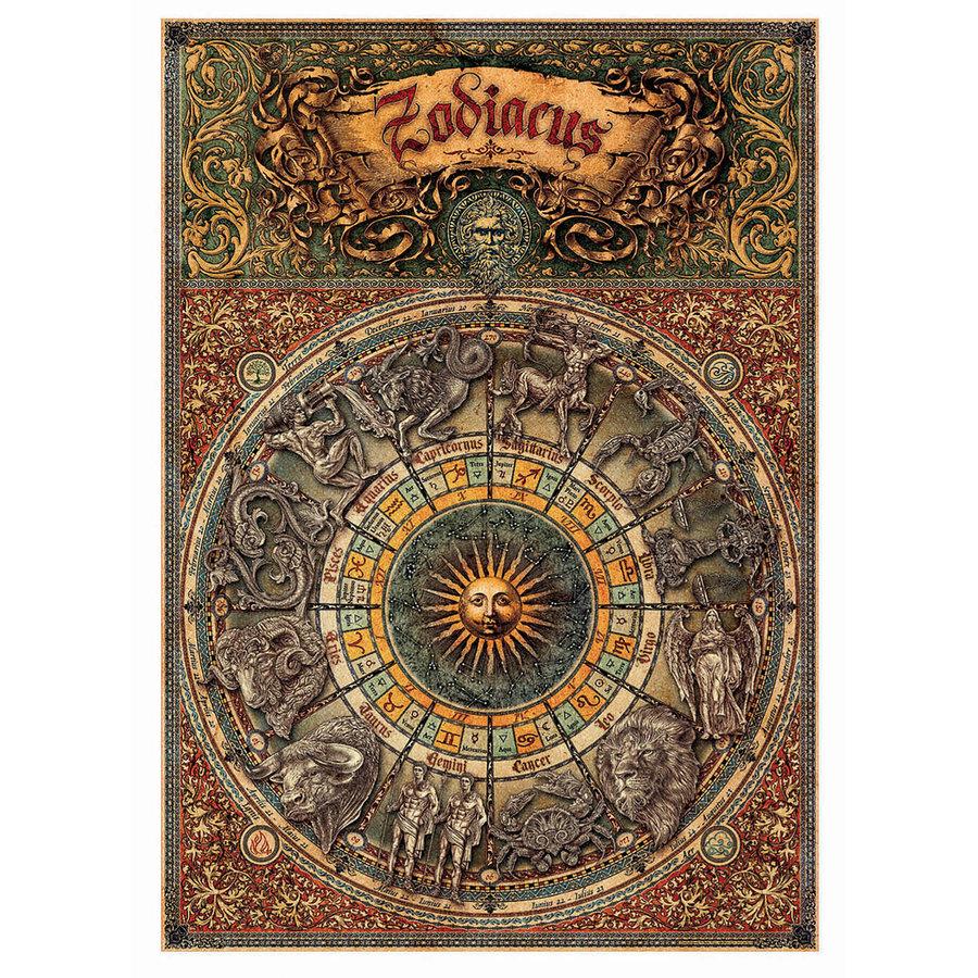 Zodiac - Dierenriem - 1000 stukjes-2
