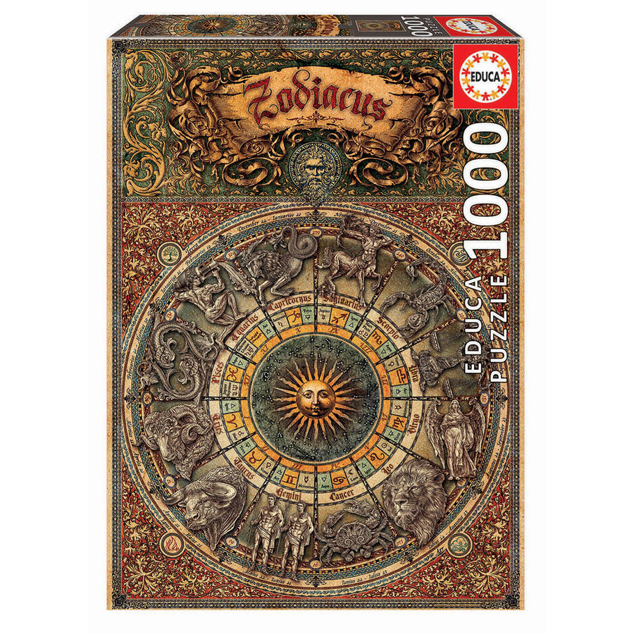 Zodiac - Dierenriem - 1000 stukjes-1