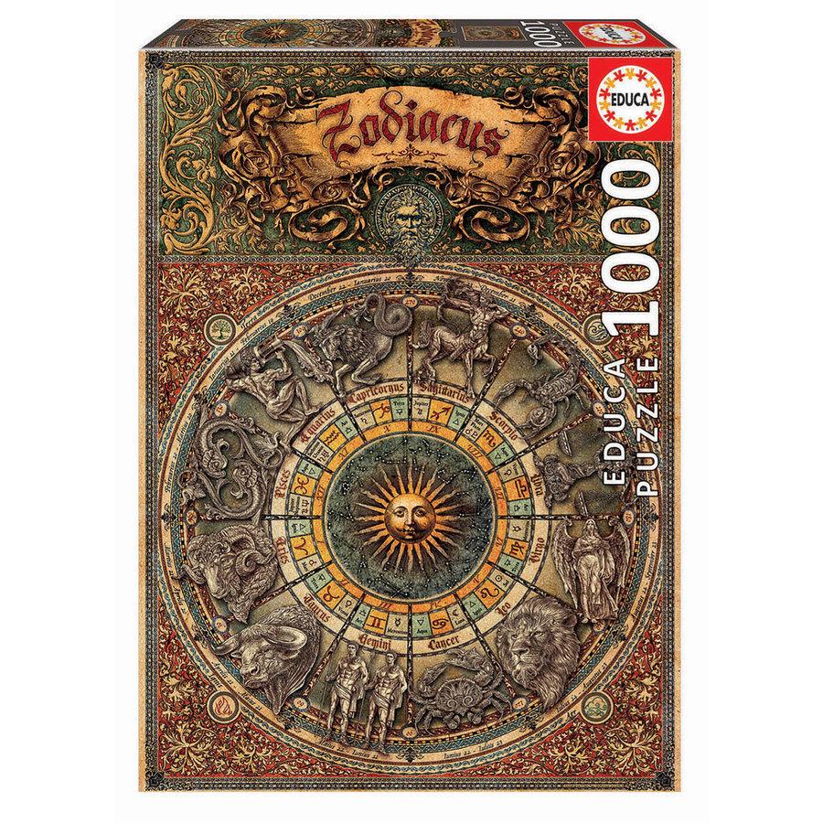 Zodiaque - 1000 pièces-1