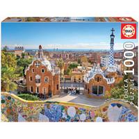 thumb-Parc Guell - Barcelona  - puzzel 1000 stukjes-1