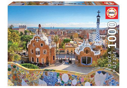 Educa Parc Guell - Barcelone - 1000 pièces