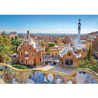 thumb-Parc Guell - Barcelone - 1000 pièces-2