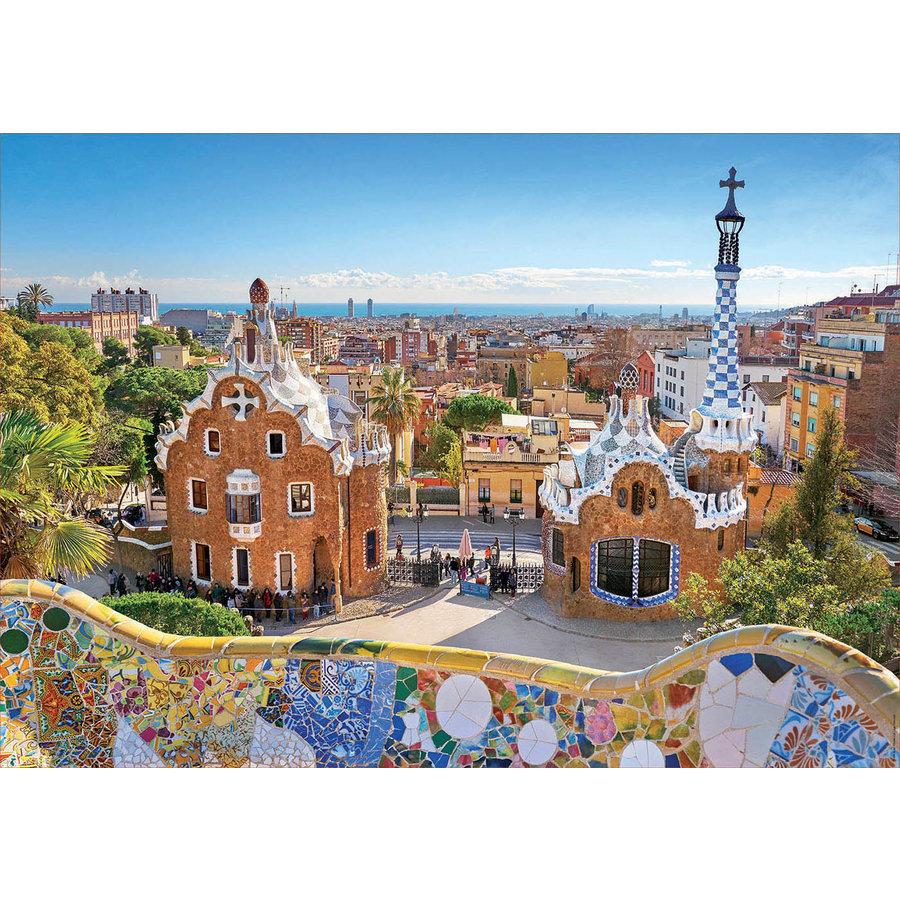 Parc Guell - Barcelone - 1000 pièces-2