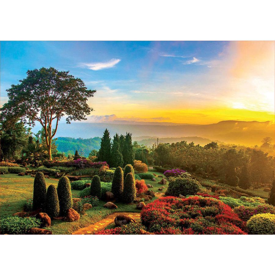 Prachtige tuin  - puzzel 1000 stukjes-2