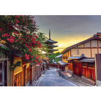 thumb-Pagode Yasaka - Kyoto  - puzzel 1000 stukjes-1